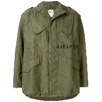 Maharishi oversized military jacket - グリーン