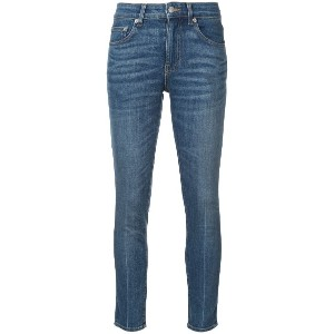 Brock Collection skinny cropped jeans - ブルー