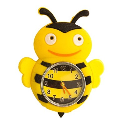 1 xシリコン動物デザインSLAP WATCH WITH REMOVABLE Watchケース – Bumblebee