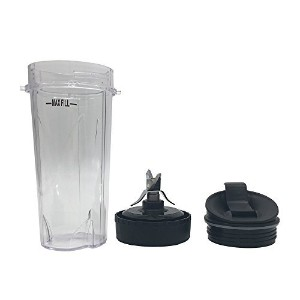 3piece交換パーツfor Nutri Ninja Blender bl660 W / bl770 / bl771 / bl773co、交換用下刃アセンブリfor Nutri Ninja...