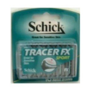 Schick Tracer FX 10 Refill Blades by Tracer FX