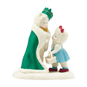 Department 56 SnowbabiesゲストコレクションウィザードのオンスKing of the Forest Figurine、4.06インチ