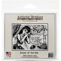 Our Daily Bread Designs Artistic Outpost Cling Stamps, 5 by 5, Sound Of The Sea by Our Daily Bread...