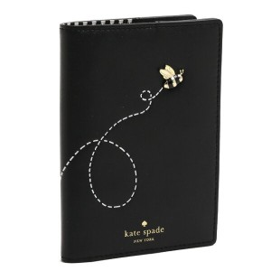 "【期間限定10%OFF・4/21/18:00~5/9/11:59】KATE SPADE/ケイトスペード""PICNIC PERFECT BEE APPLIQUE PASSPORT""ビー..."