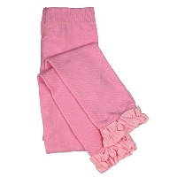 Ruffle Butts Pink RUffle Tights 2T-4T