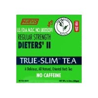Bamboo Leaf Brand Regular Strength Dieters' II True Slim Tea 30 Bags by Nuevo