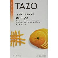 Tazo Tea Herbal Wild Sweet Orange Tea (Pack of 3) by TAZO