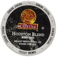 H-E-B Cafe Ole Taste of Texas Houston Blend Coffee 54 count single serve cups by Cafe Ole