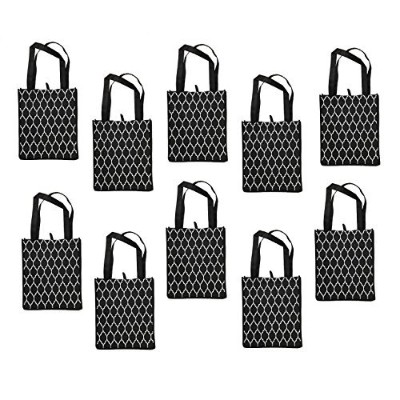 ReBagMe ( TM )のセット10Large Reusable Grocery Bag Totes with Extra補強ハンドル縫製Down to the Bottom of the...