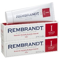 Rembrandt Intense Stain Toothpaste, Mint, 99g (2-pack) (2個セット)レンブラント ホワイトニング 歯磨き粉