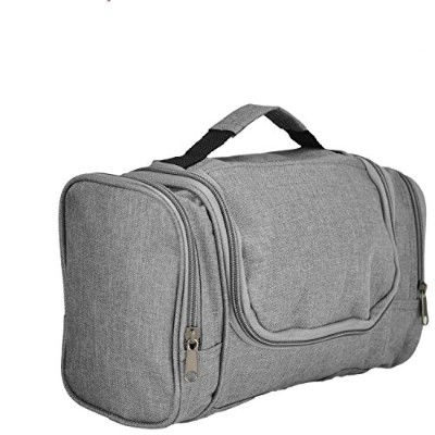 DALIX Travel Toiletry Kit Accessories Bag, Gray by DALIX