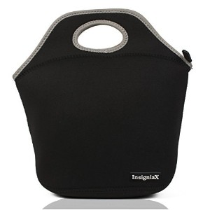 Neoprene Lunch Bag: Insignia Mall Insulated Lunch Tote For Men, Women, Girls, Adults, Work With...