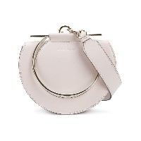 Salvatore Ferragamo round-shaped Giancini handle bag - ヌード&ナチュラル