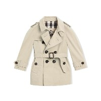 Burberry Kids The Wiltshire Trench Coat - ヌード&ナチュラル