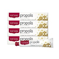 red seal レッドシール プロポリス 歯磨き粉 160gの4個セット RED SEAL Propolis Toothpaste 160g x 4set [日本正式輸入品]