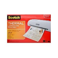 Scotch Thermal Laminating Pouches , 11.45X 17.48-inches、25-pouches ( tp3856–25) 11.45 x 17.48...