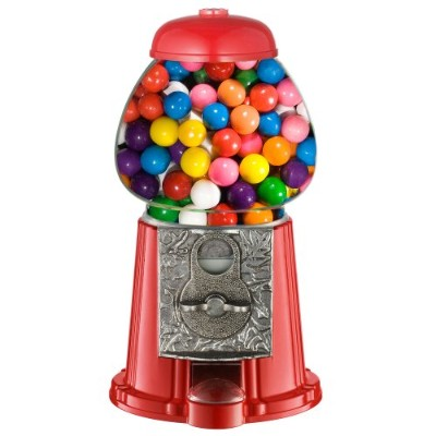 Great Northern Popcorn Company Old Fashioned Vintage Candy Gumball Machine Bank, 11-Inch by Great...