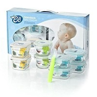 Glasslock Eco-Friendly YumYum Safety Tempered Glass Food Container 17pcs SET & Key Ring. Glasslock...