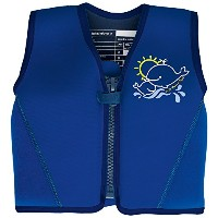 JoJo Maman Bebe Neoprene Float Jacket, Blue Medium by JoJo Maman B?b?
