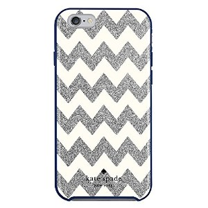kate spade new york iPhone 6s Case [Shock Absorbing] Cover fits both iPhone 6, iPhone 6s - Chevron...