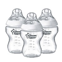 Tommee Tippee Closer to Nature Easi-vent 260 ml/9fl oz BPA-free Feeding Bottles (3-pack)
