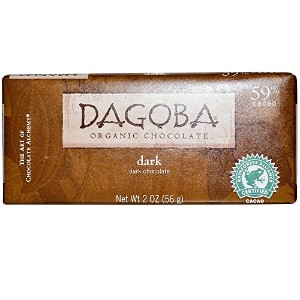 Dagoba Organic Chocolate, ダークチョコレート、 2 oz (56 g)