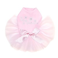 (L)Dog in the Closet, Merry Christmas with Swarovski Snowflakes - Dog Tutu(L)クローゼットの犬、スワロフスキーのメリークリス...