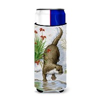 Caroline 's Treasures Otter by the Water Michelob Ultra Koozies forスリム缶、マルチカラー