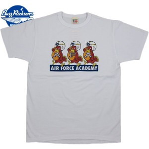 "BUZZ RICKSON'S/バズリクソンズS/S T-SHIRT ""AIR FORCE ACADEMY"" 半袖プリントTシャツ WHITE(ホワイト)/BR78018"