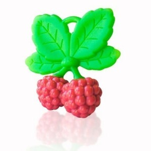 RaZbaby RaZzies Teether, Red and Green by Razbaby [並行輸入品]