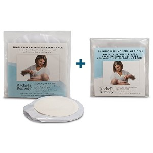 Rachels Remedy-Organic Moist Heat Therapy for Nursing Moms (Mastitis, Sore Nipples, Clogged Ducts,...