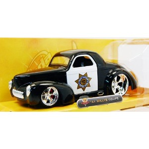 "JadaTOYS ""2009 10TH ANNIVERSARY EDITION"" 1:24SCALE "" '41 WILLYS COUPE"" ジェイダトイズ 10周年記念 1:24スケール '41..."