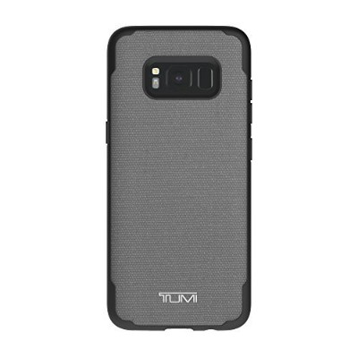 TUMI Coated Canvas Co-Mold Case for Samsung Galaxy S8 - Grey [並行輸入品]