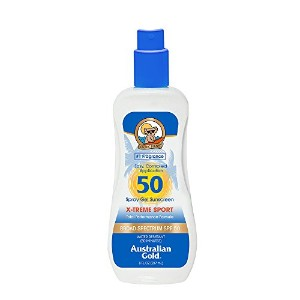 Australian Gold X-Treme Sport Spray Gel SPF 50 237ml/8oz並行輸入品