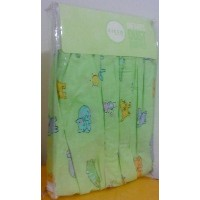 Circo Crib Dust Ruffle (Bed Skirt) Cat Dog Butterfly Bee by Circo