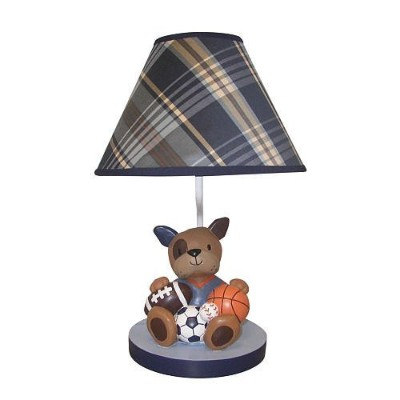Lambs & Ivy Bow Wow Lamp by Lambs & Ivy