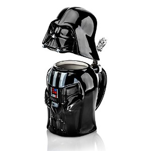 STAR WARS DARTH VADER Stein – Collectible 22oz Ceramic Mug withメタルヒンジ