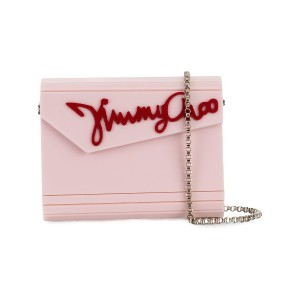 Jimmy Choo Candy クラッチバッグ - ピンク&パープル