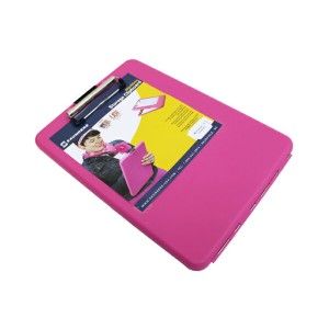 SAUNDERS Slimmate STORAGE CLIPBOARD スリムメイト ストレージ クリップボード A4 アメリカ製 PINK ピンク