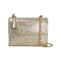 Tory Burch Fleming 斜めがけバッグ - メタリック