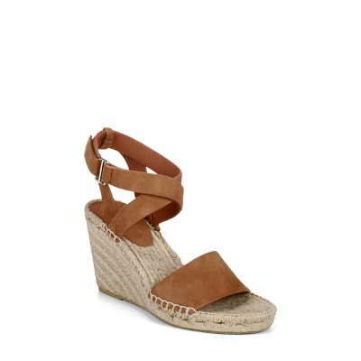 ヴィアスピガ レディース サンダル シューズ Via Spiga Nevada Espadrille Wedge Sandal (Women) Saddle Suede
