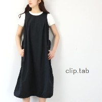 clip.tab(クリップタブ)フライト ワンピースmade in japan3182o-001