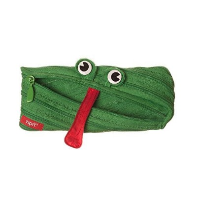 ZIPIT Animals Pencil Case, Frog by ZIPIT USA INC. [並行輸入品]