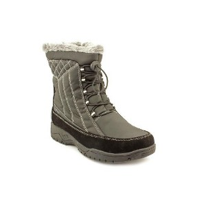 totes Womens Eve Cold Weather Winter Boots,Black,10