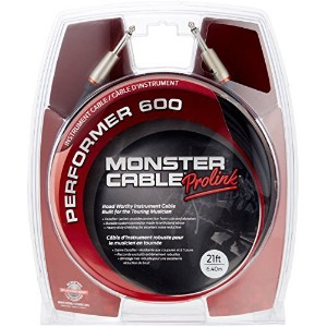 Monster Cable P600-I-21 Performer600楽器用ケーブル/ プラグ S-S /ケーブル長:約6.4m