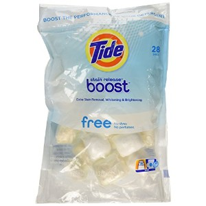 Tide Free Boost Stain Release Laundry Detergent Pods (Pack of 28 Pods) by Tide
