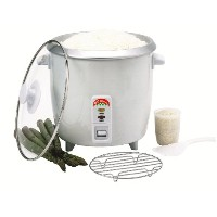 Benecasa bc-12416 6-cup ( Uncooked ) Rice Cooker with Glass Lid by Bene Casa