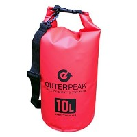 outerpeak 10l防水ドライバッグwith Shoulderストラップ