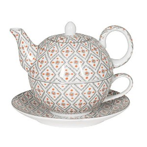 Tea for Oneティーポットwith Cup and Saucer inギフトボックス