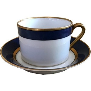 Fitz and FloydルネッサンスブルーCerulean Cup & Saucer